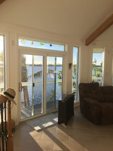 Open Water Home with Sunset Views Near Key West