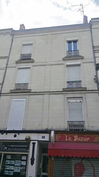 façade de l immeuble