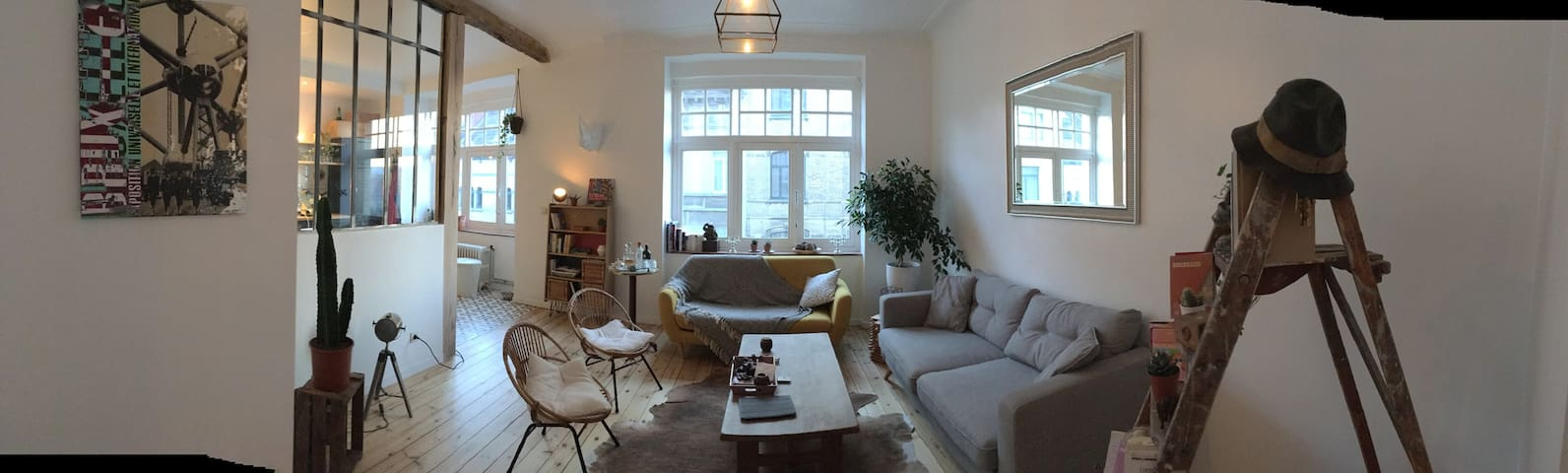 Chambre chez l'habitant - Bruxelles Schaerbeek