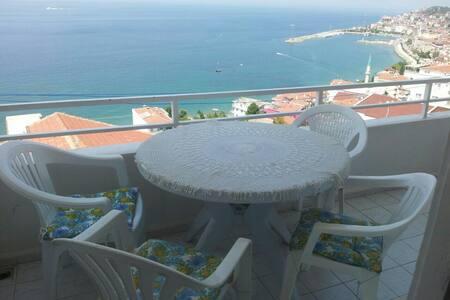 AMAZNG SEA VIEW MODERN SUMMER APART - Esenköy Belediyesi - 公寓