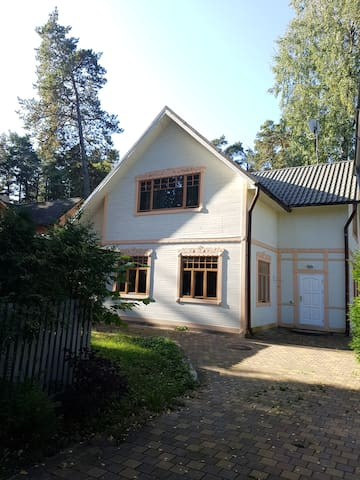 Nice holiday house in Jurmala. Very close to beach