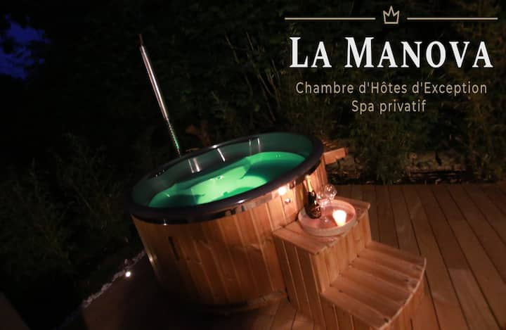 Suite d'Exception La Manova Bain Nordique Jacuzzi