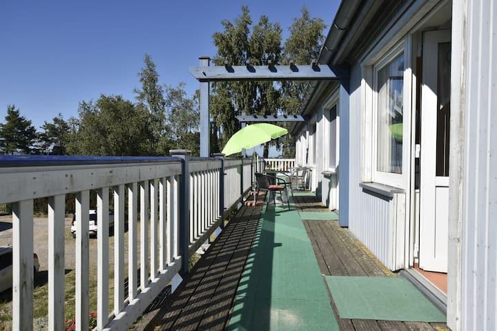 Gezellig appartement in Rerik, Duitsland, met zonneweide