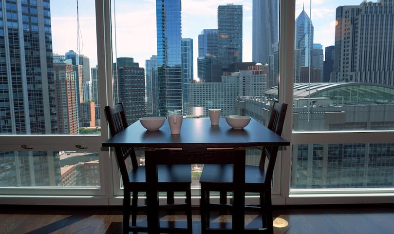 Modern Apartment in Beautiful Residential Tower - Chicago - Appartement