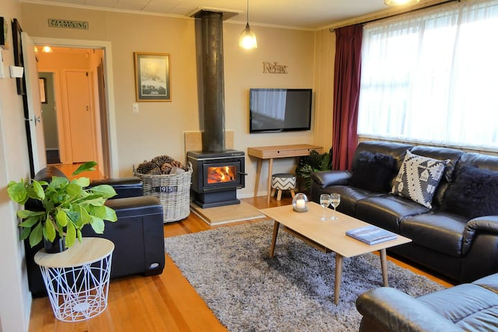 Trout Cottage - Entire home - Wifi - Turangi - 一軒家