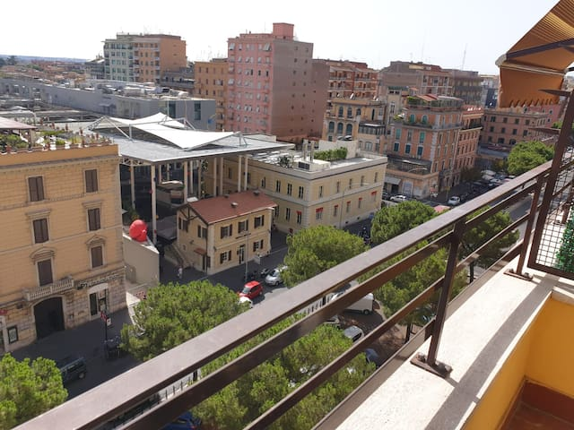 Rome's Door -a/c, metro and balcony-