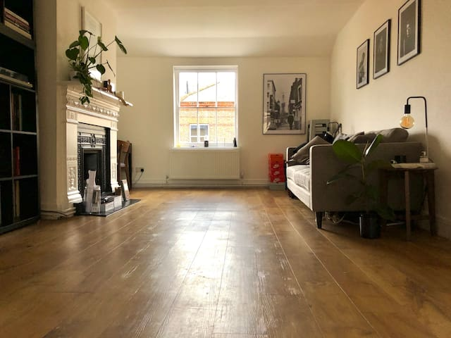 Quiet spacious Central London flat