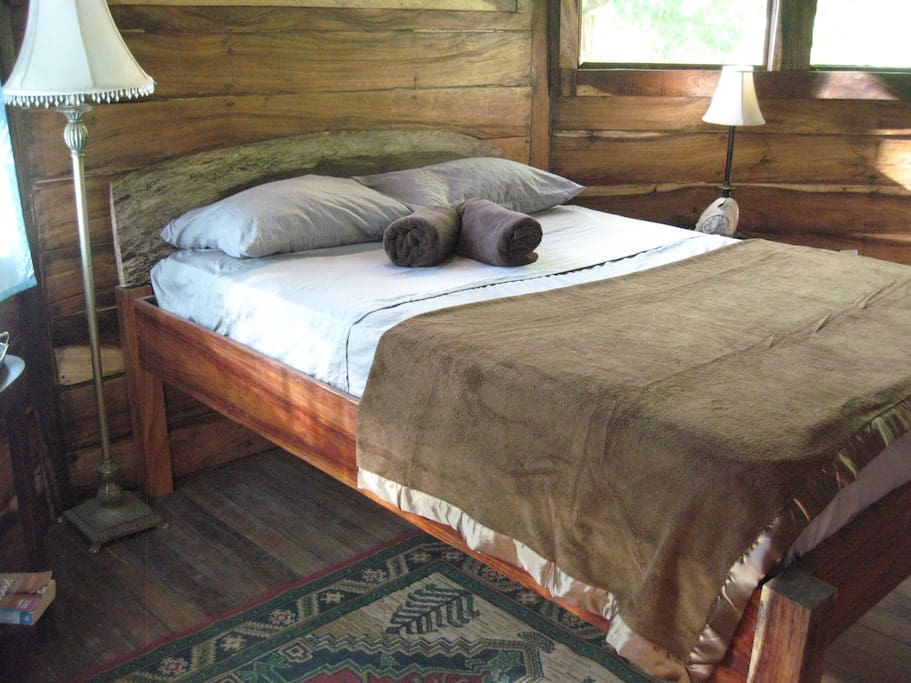 cozy cabin feel with orthopedic mattresses