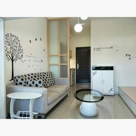 New-No.1Best Location 2minsMRT捷運上蓋2分鐘,開放式公寓,廚房洗乾衣機