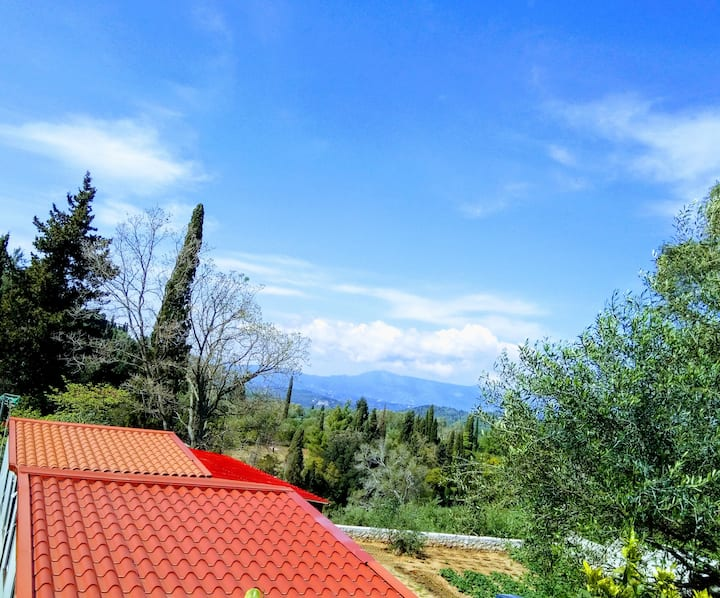 Home perfect for family vacations, Sinarades Corfu
