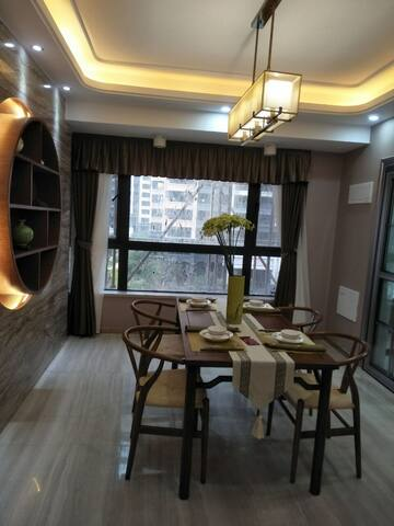和盛soho公寓现代简约双人房 - Dongguan