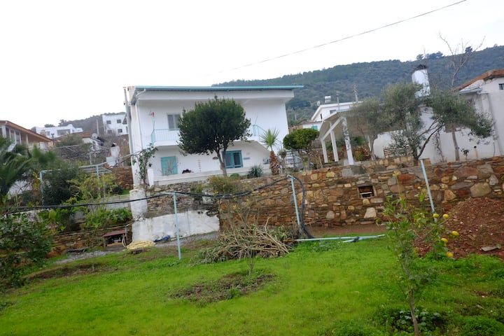 Typical village house in Aegean region, Bodrum