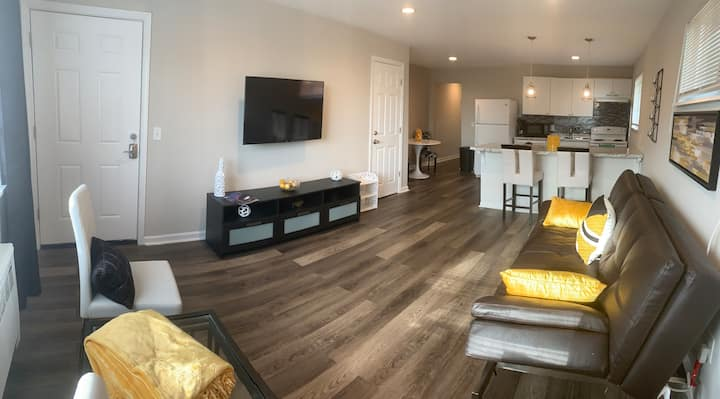 Updated Modern Apt- Centrally located in cincy !!