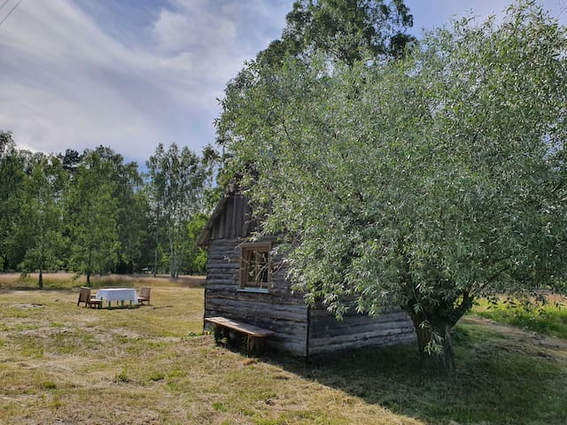 """Vecvalki"" one bedroom cottage with private patio"