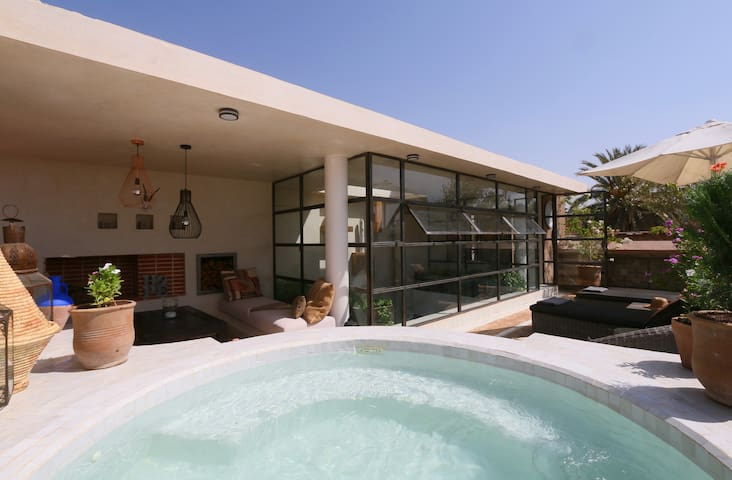 medinaRose - Riad in Marrakech, pool on terrace - Marrakech - House