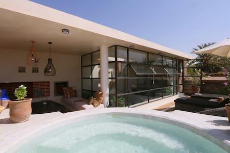 medinaRose - Riad in Marrakech, pool on terrace - Marrakech