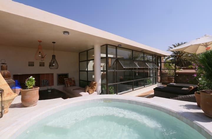 medinaRose - Riad in Marrakech, pool on terrace