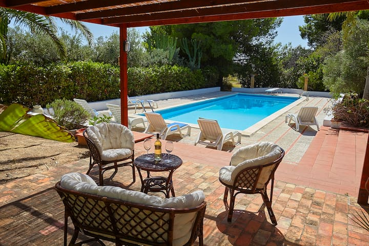 Sciacca charming villa with pool - Sciacca - Huis