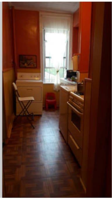 Kitchen/washer dryer