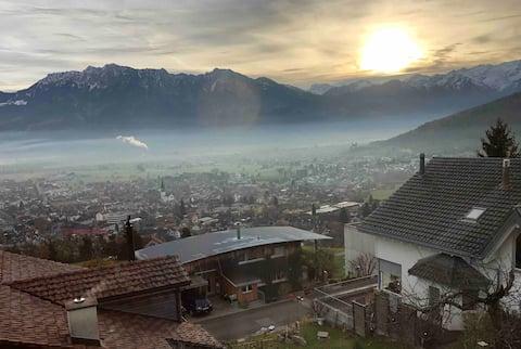 1 1/2 room apartment in Eastern Switzerland  Grabserberg