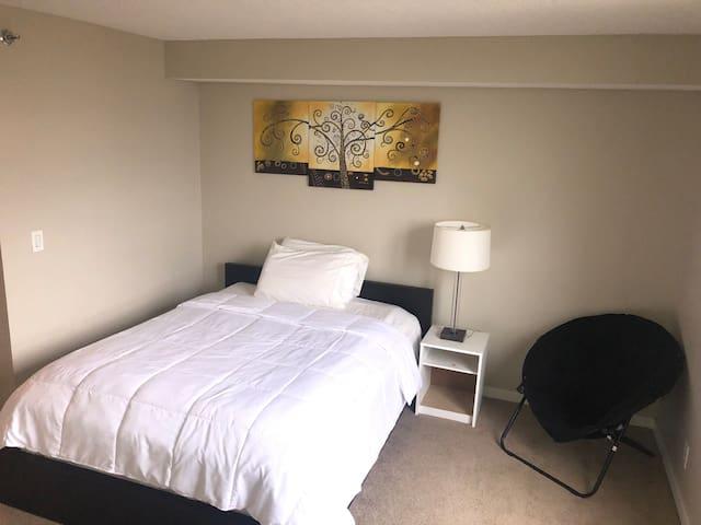 Downtown luxury condo apartment (private bath)