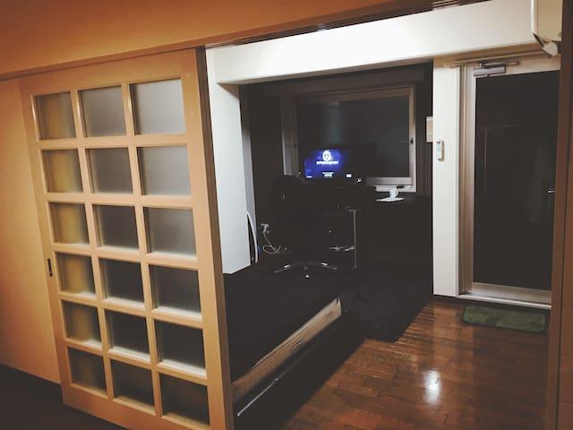 난바,니혼바시,에비스초 신세카이근처 인근역 5개 도보6분이내 숙박요금 조정 가능 - Kita Ward, Osaka - Lägenhet