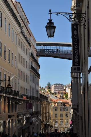 Chiado and Santa Justa lift