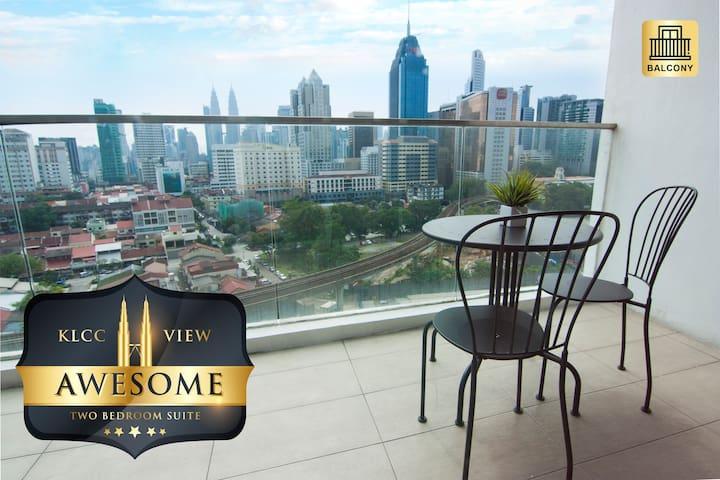 Cozy 2 BR With KL City View & Balcony @ Regalia