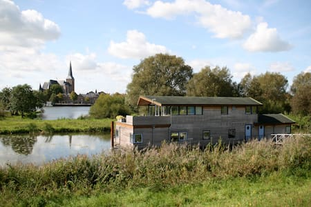 Houseboat de Syrinx near Kampen - IJsselmuiden - Bed & Breakfast