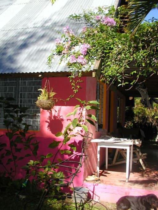 House and verandah