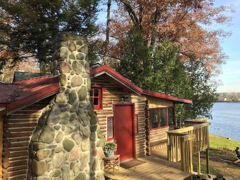 Little Log cabin on the Big Muskegon River.