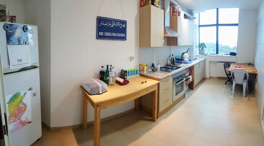 Clean, Bright & Perfect for Business or Vacation - Tunis - Apartament