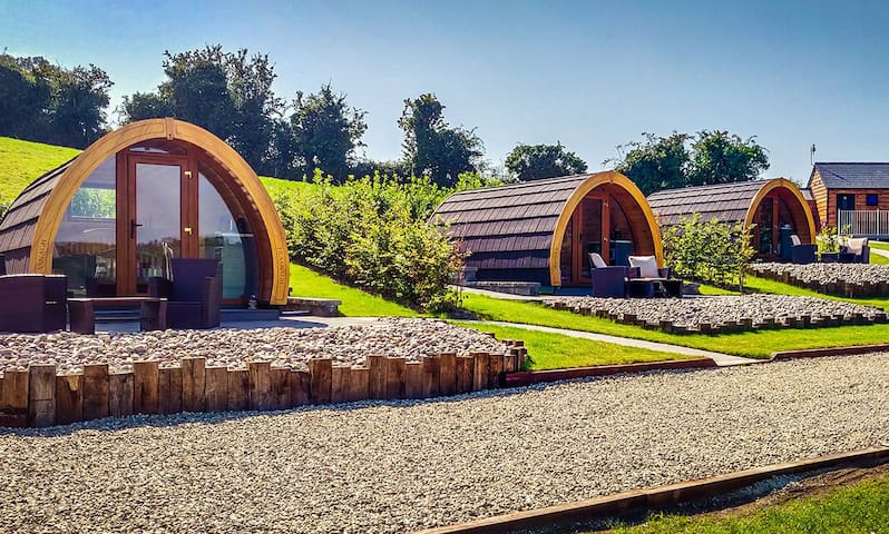 Pebble Pods - Glamping Resort (Pod 1 - Trasnagh)