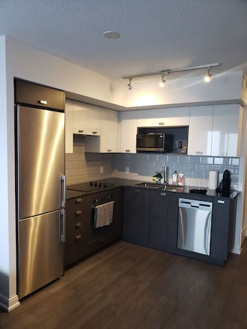 Spectacular New 1+1 Condo With 2 Full Washrooms