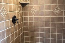 40 square foot master shower