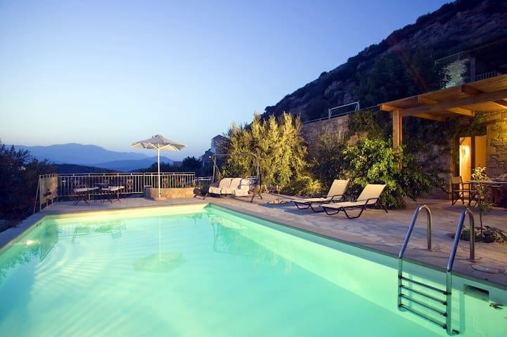 Villa Alkistis, Istron, 1 bedroom - Agios Nikolaos - Villa