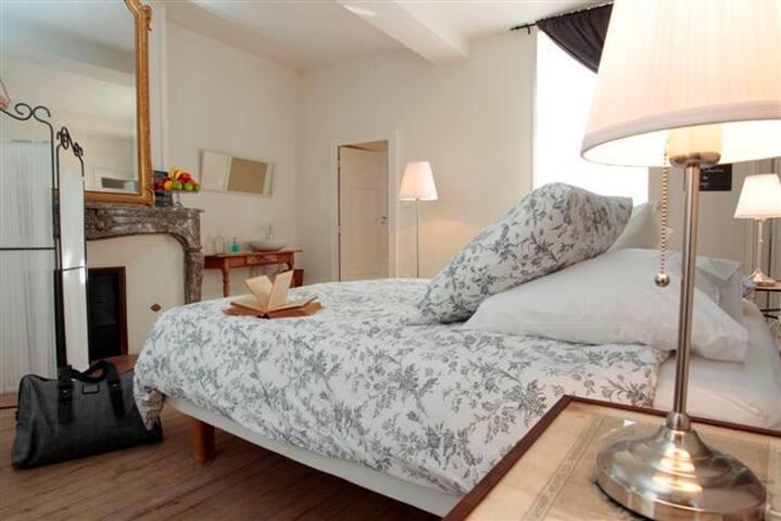 Jolie chambre d'hôtes de charme - Laon - Bed & Breakfast
