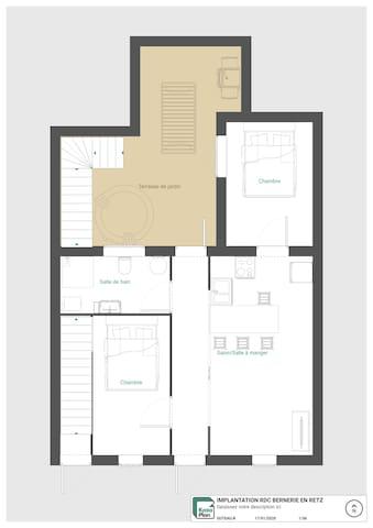 KERNOVI 1 : Maison entière 4 - 8 personnes