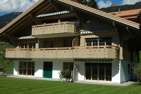 New, bright, modern 1 bedroom flat - Grindelwald - Apartment
