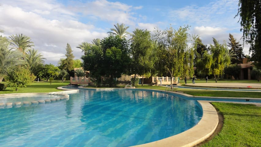 Haven of peace in the Palm grove - Marrakesh - Villa