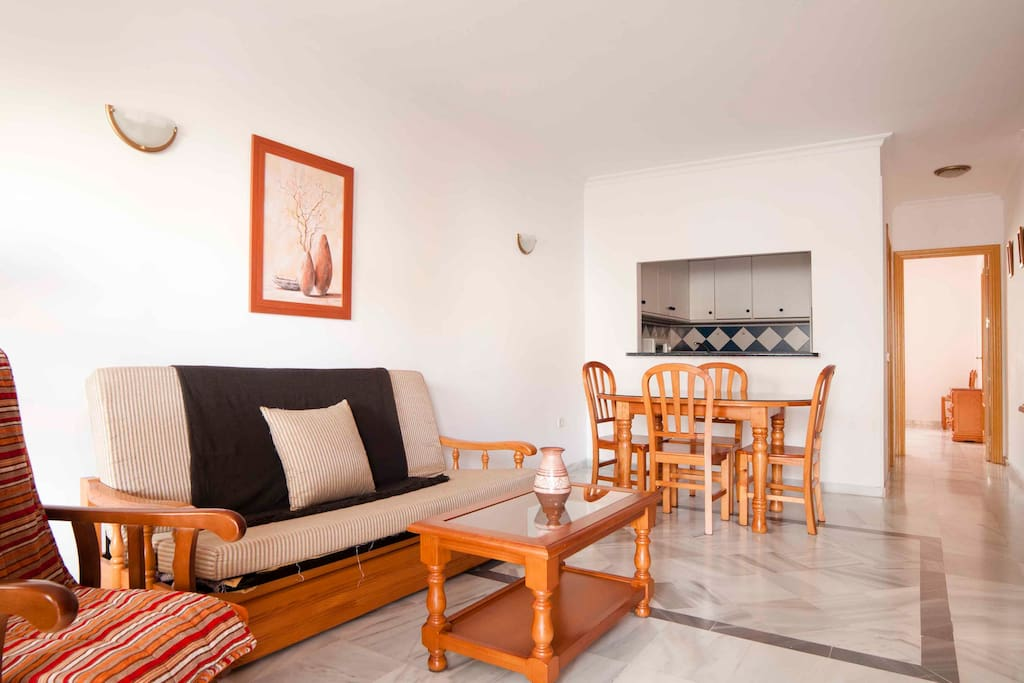 beach at 7 min walk swimming pool appartements louer fuengirola malaga espagne. Black Bedroom Furniture Sets. Home Design Ideas