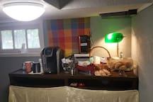 Continental breakfast station