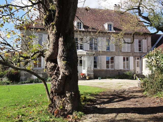 B&B La Perle d'Anrosey -  kamer Coté Cour - Anrosey - Bed & Breakfast