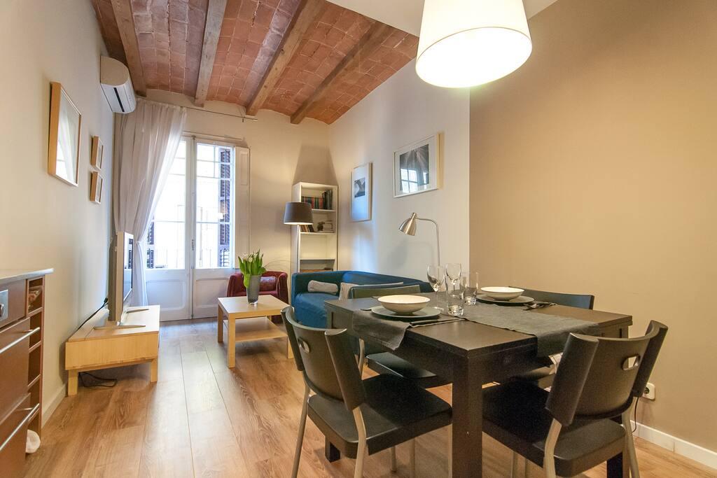 Berga appartamenti in affitto a barcellona catalogna for Appartamenti barcellona affitto vacanze