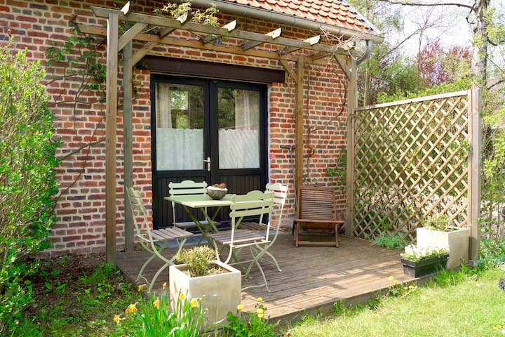 -Le Cottage- Gite de charme à Lille - Villeneuve-d'Ascq - Dům
