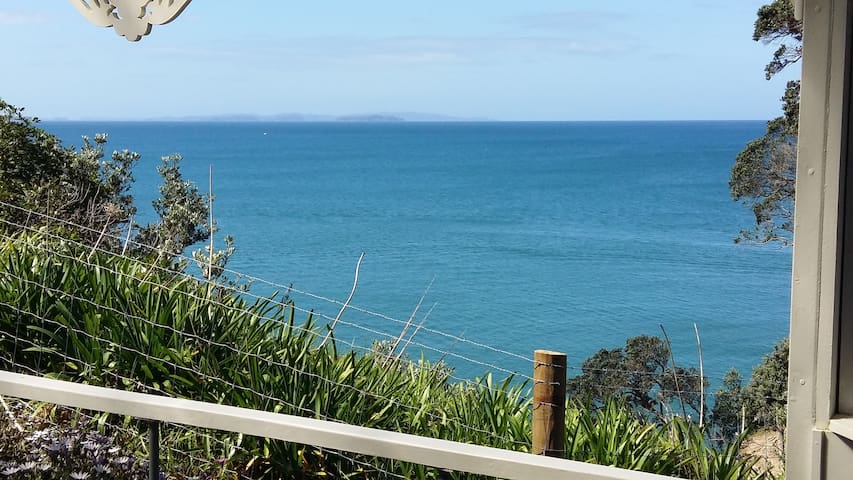 Piece of paradise, sea/clifftop, 30 mins from AKL - Red Beach - Dom wakacyjny