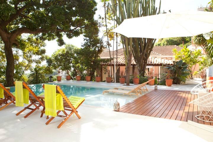 Suite 2 in Santa Teresa's house. - ริโอเดอจาเนโร - ที่พักพร้อมอาหารเช้า