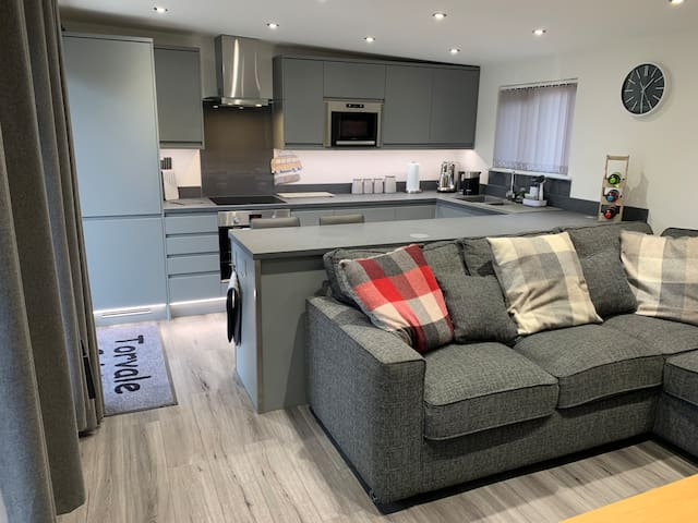 Kitchen & Lounge with everything you should require for you stay