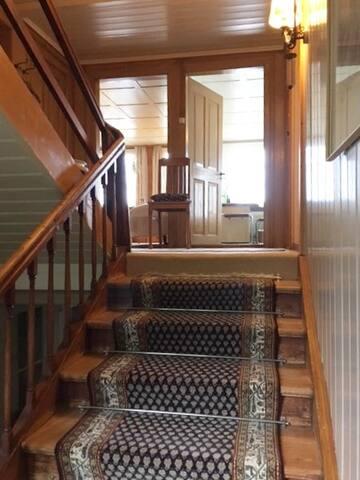 Komm hinauf in den 2. Stock