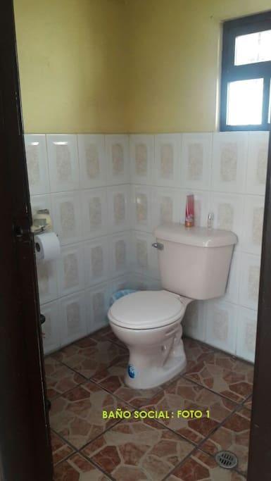 Baño Social: Foto 1